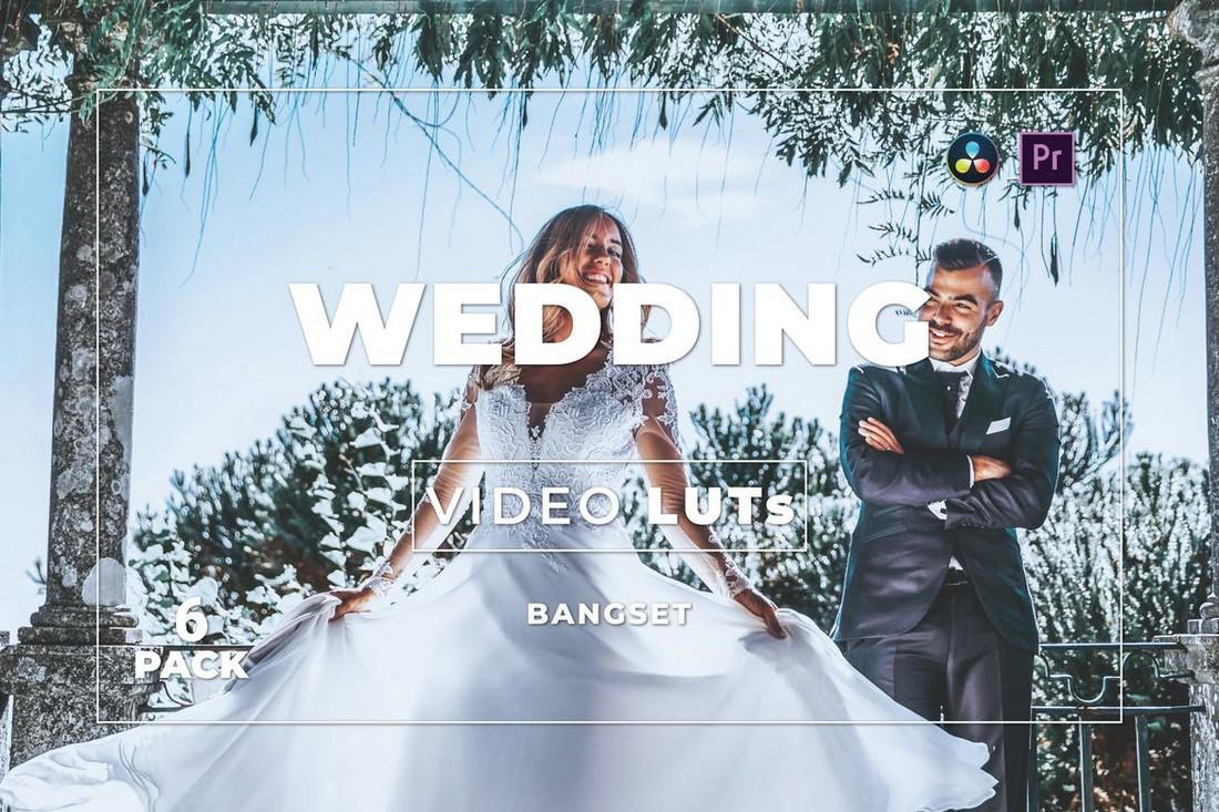Paket LUT Video Pernikahan Modern