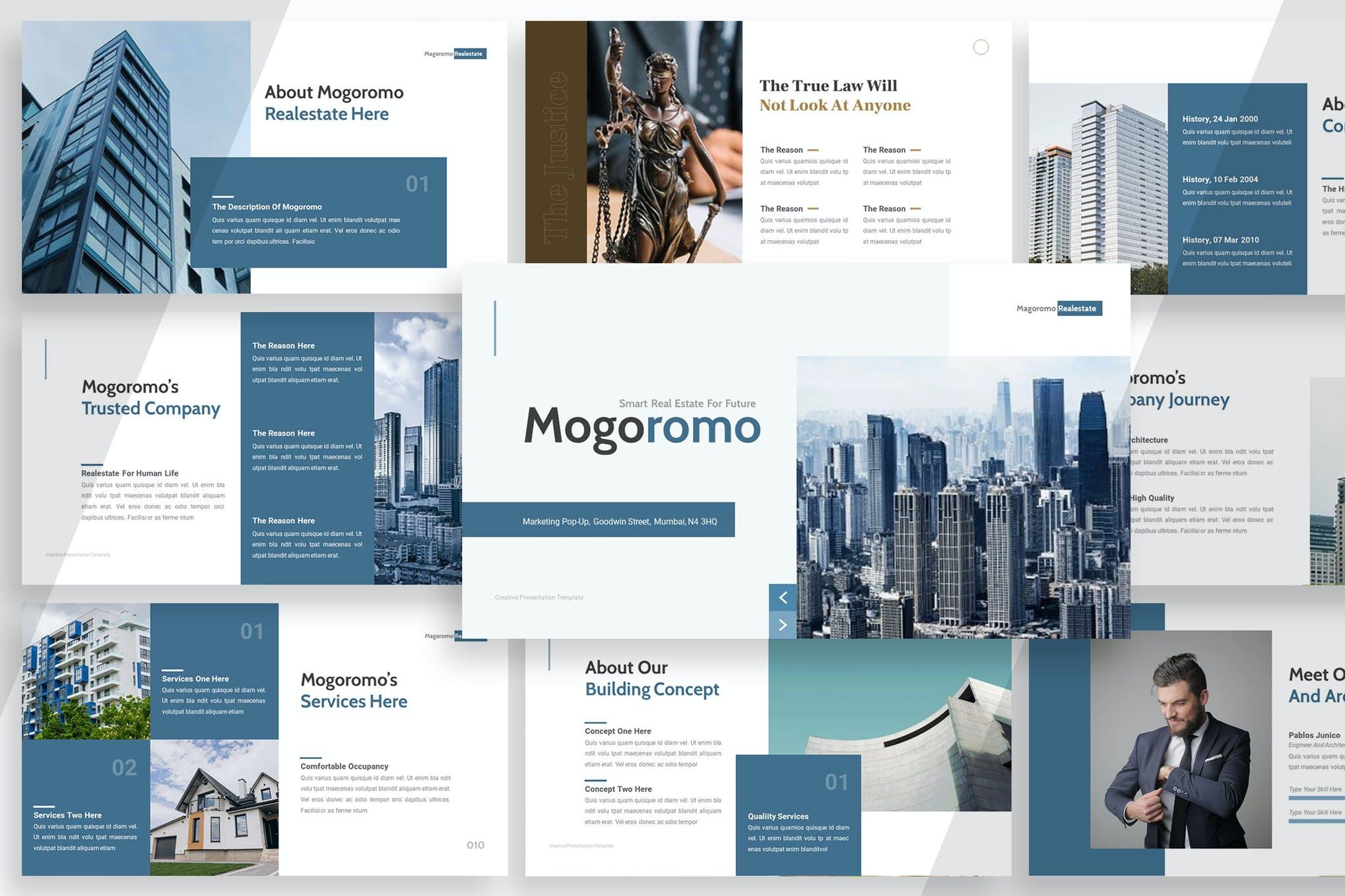 Mogoromo Real estate Powerpoint ppt