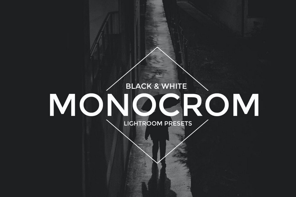 Monocrom B&W Lightroom Presets