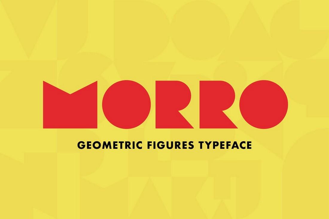 Morro - Font Angka Geometris