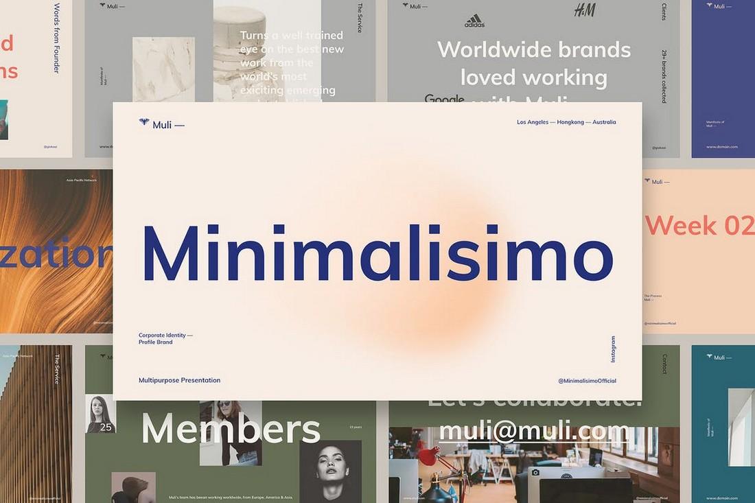 Muli Minimalist Powerpoint Presentation