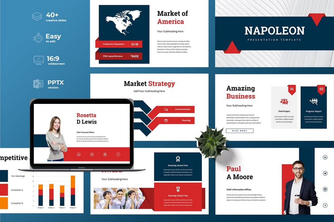 Napoleon - Business Powerpoint Template