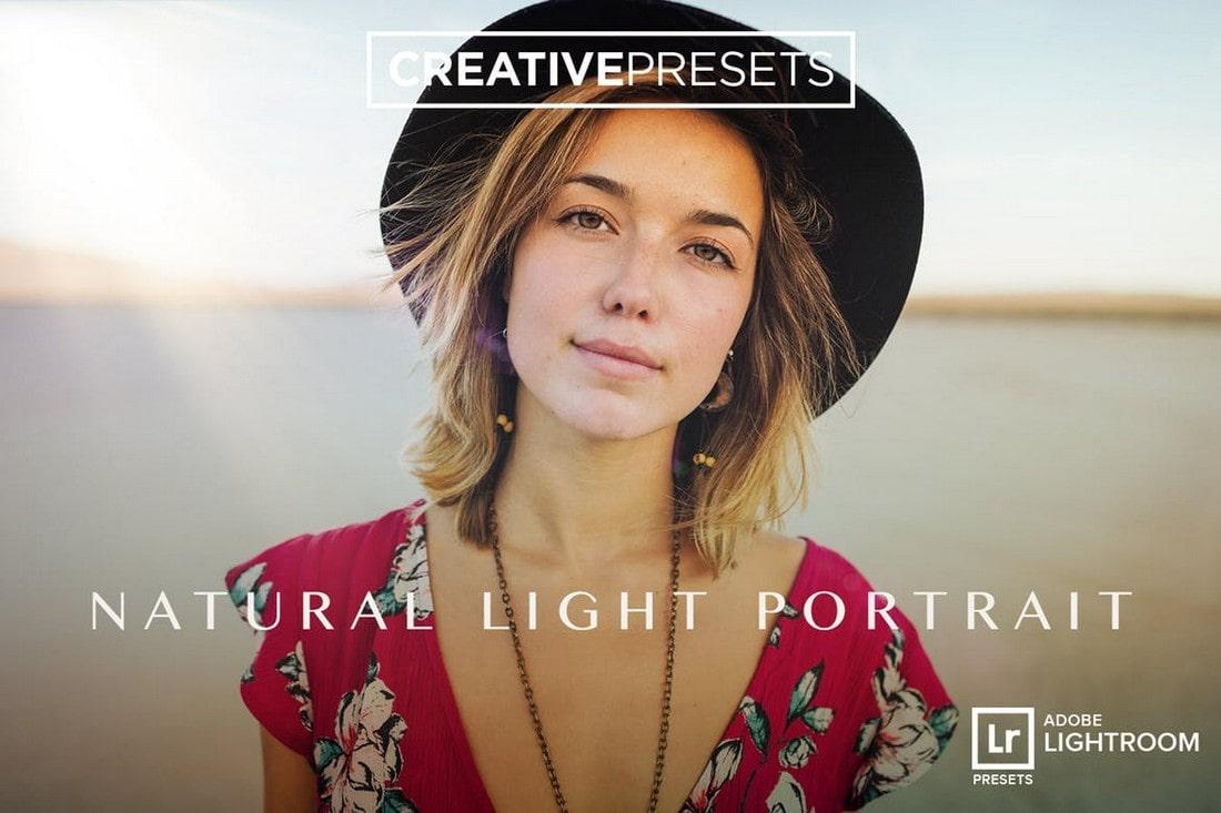 Natural Light Portrait Lightroom Presets