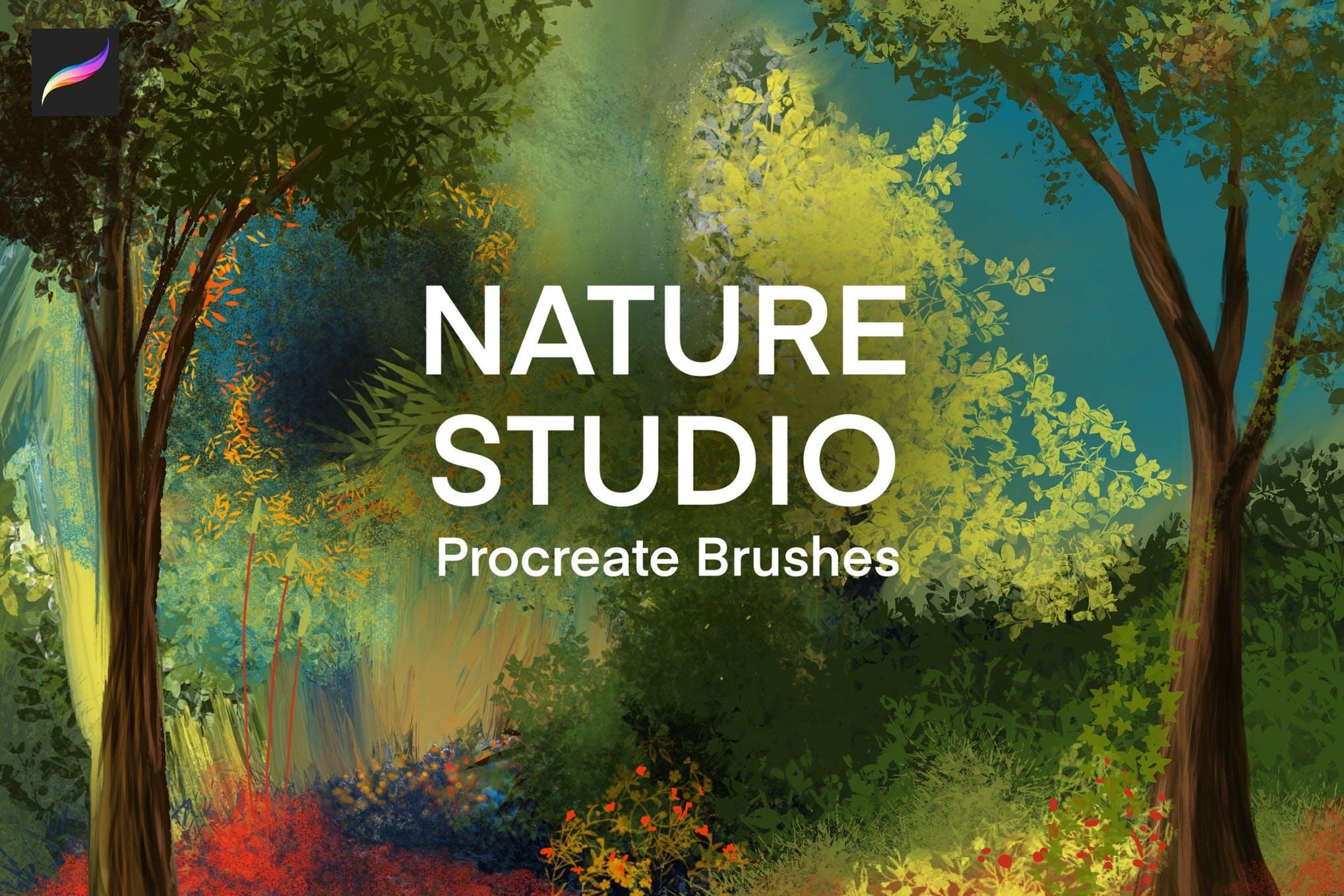 Nature Studio - Landscape Procreate Brushes