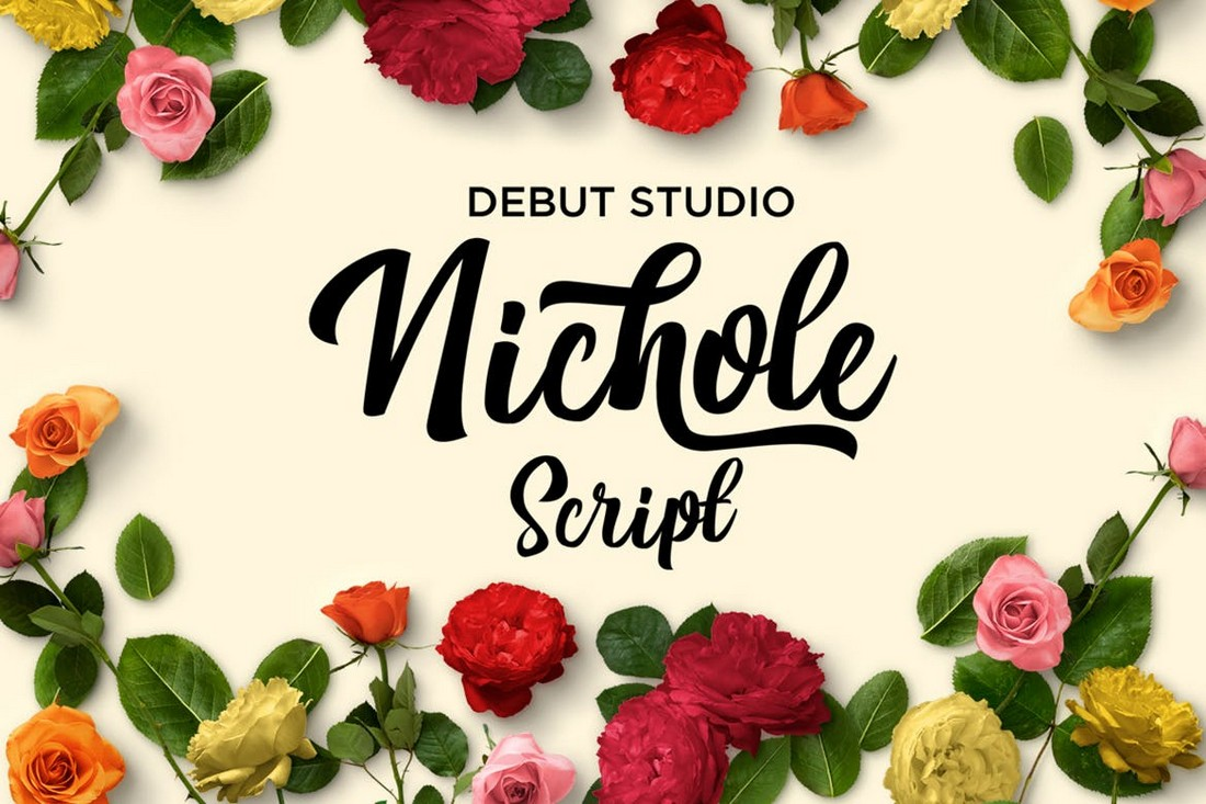 Skrip Nichole - Font Cricut