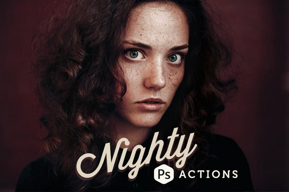 Nighty - Gritty Photoshop Actions