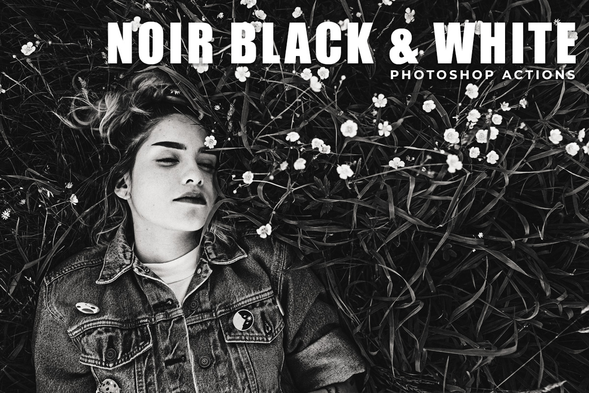 Noir Black & White Free Photoshop Actions
