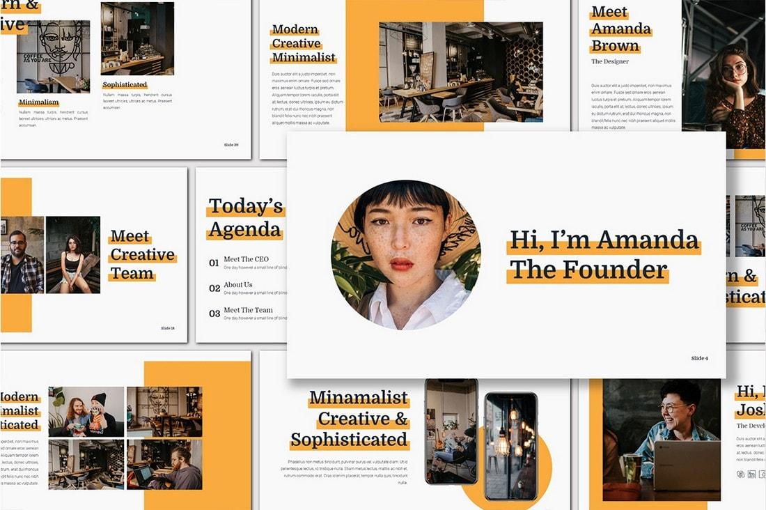 Nunito - Marketing Presentation Template