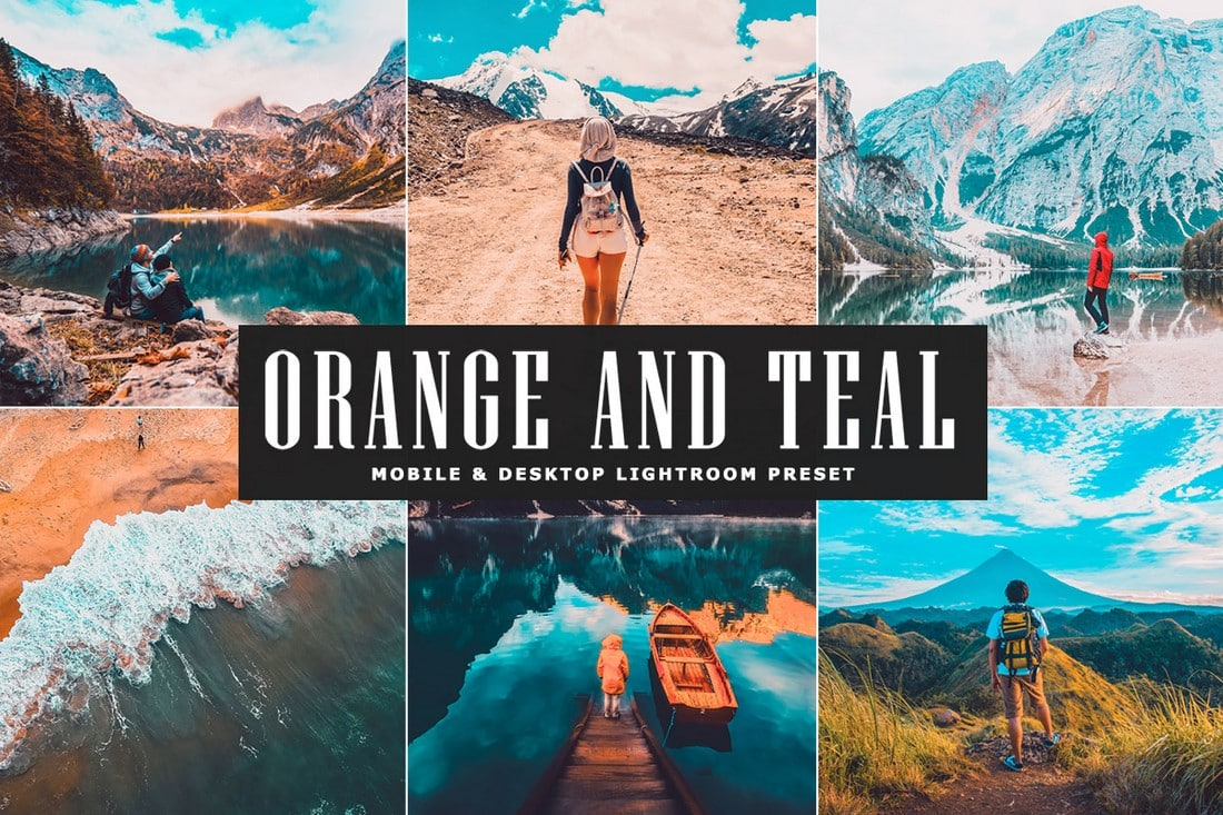 Orange and Teal - Free Lightroom Preset