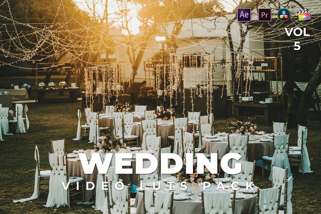 LUT Pernikahan Luar Ruangan untuk FCPX