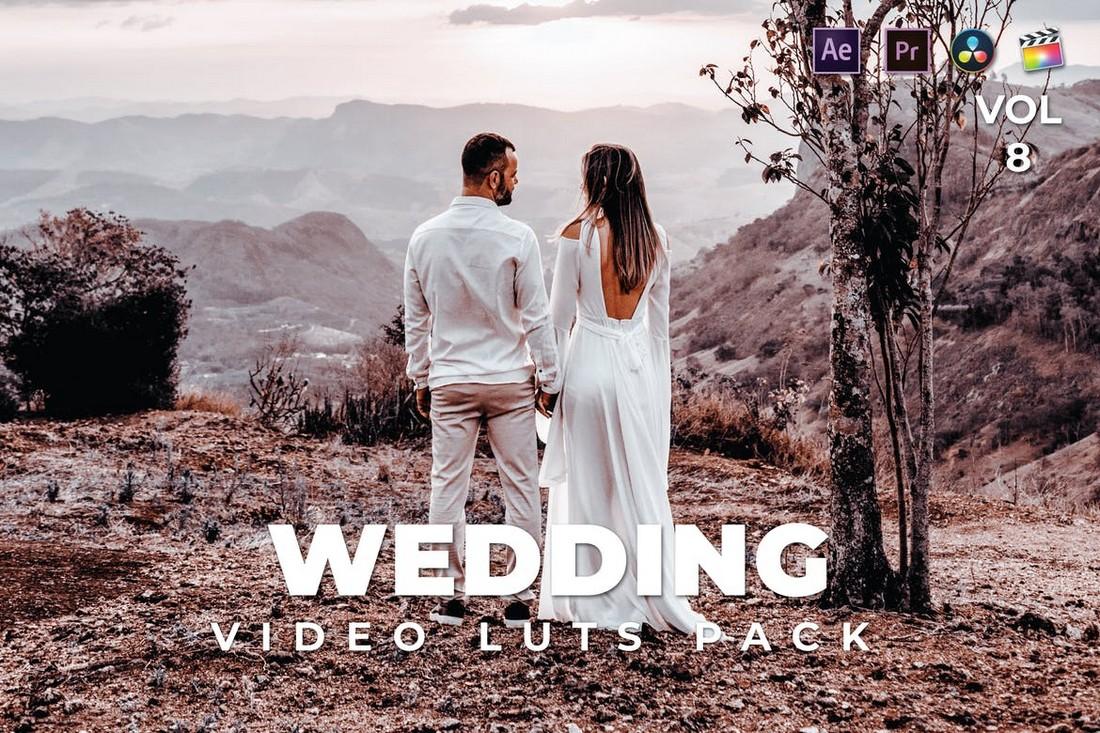 Paket Pernikahan Luar Ruangan Video LUT