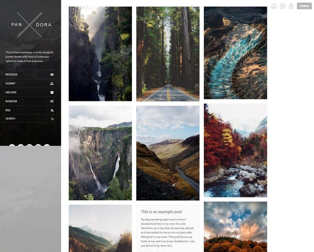 Pandora-grid-tumblr-theme