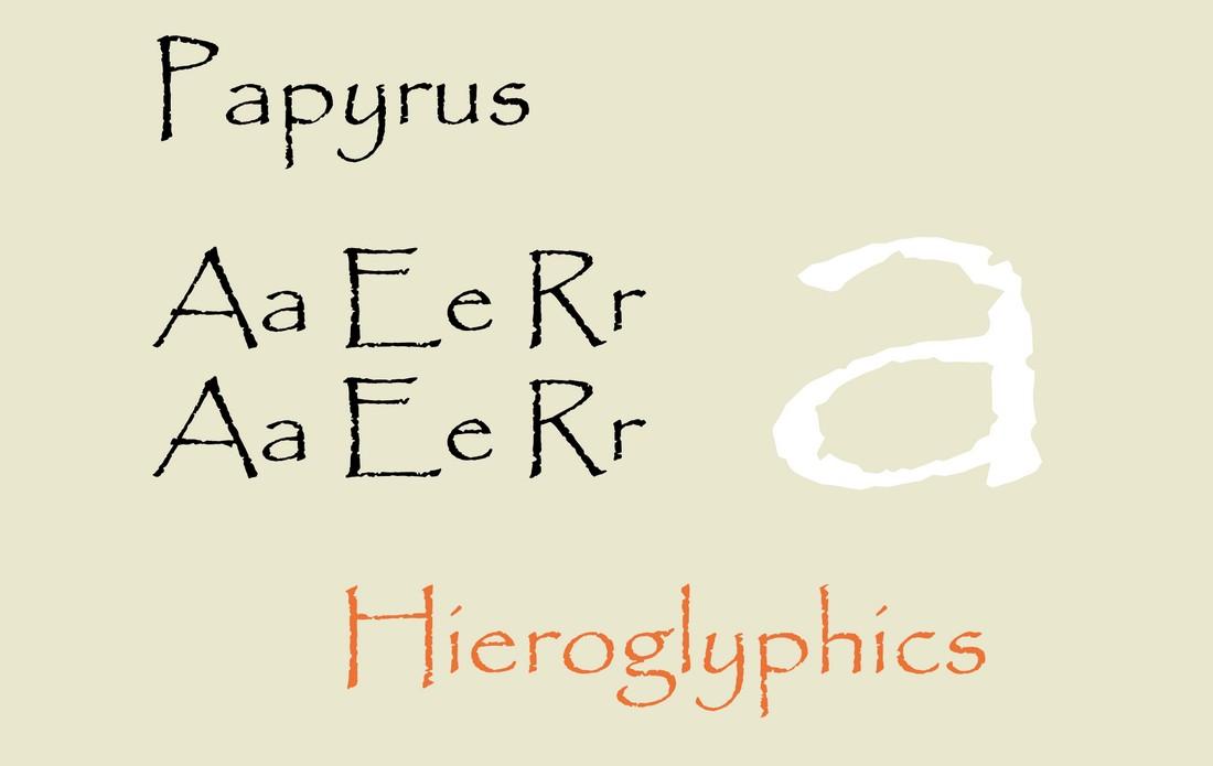 font papirus