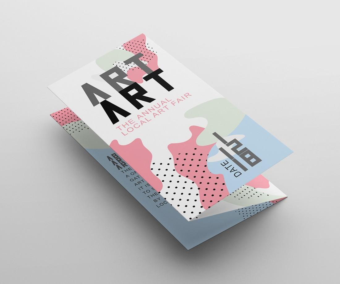 Pastel Color Tri-Fold Brochure