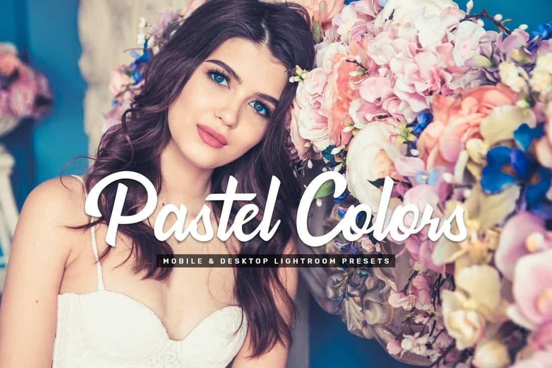 Pastel Colors - Mobile & Desktop Lightroom Presets