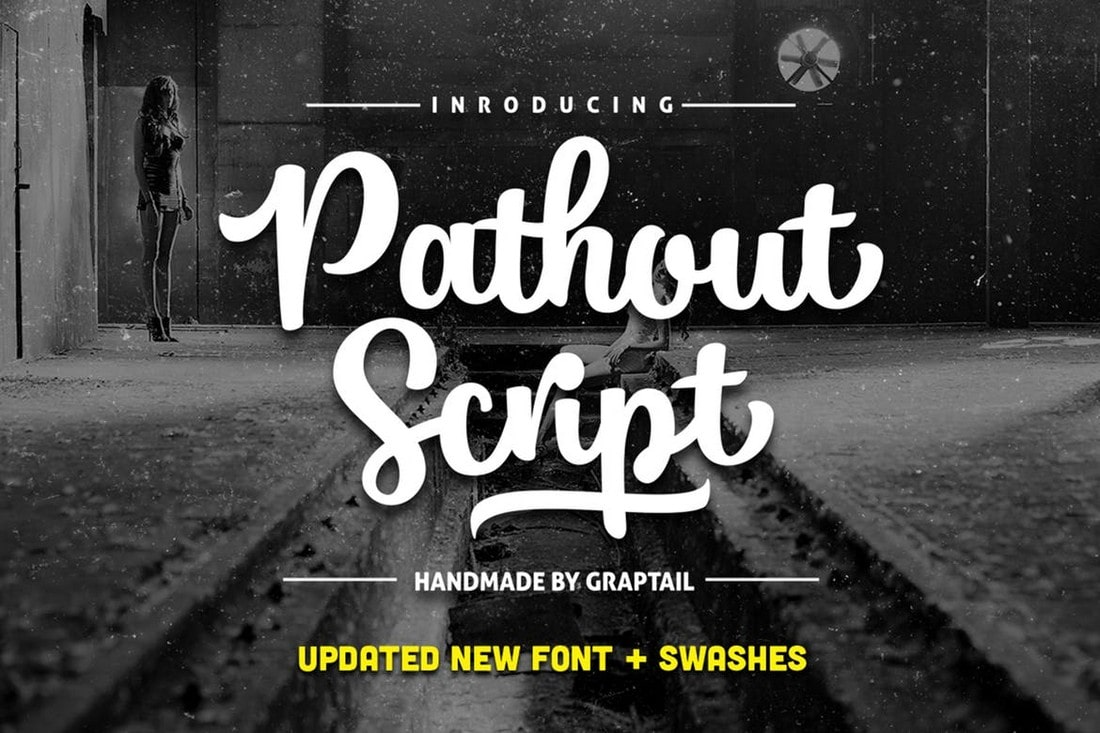 Pathout Script - Vintage Cursive Font