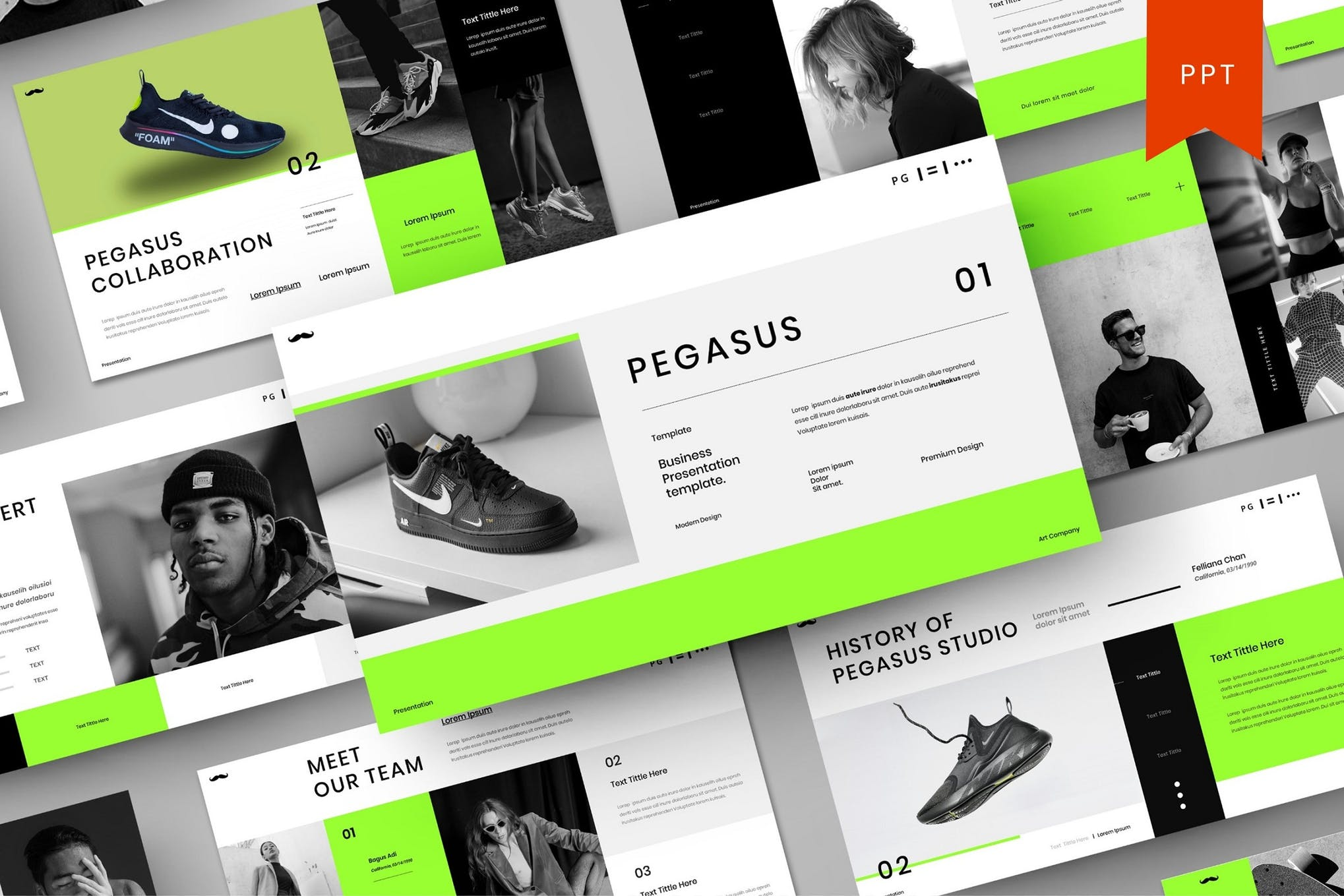 Pegasus – Business PowerPoint Template