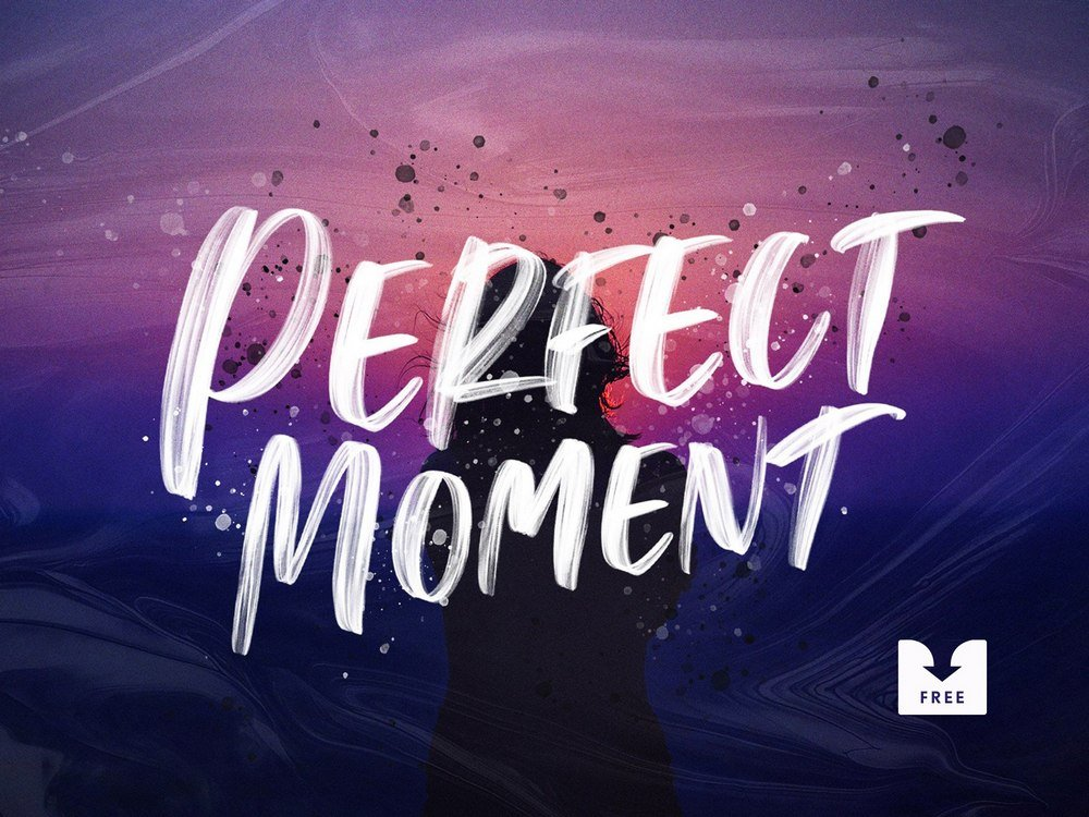 Perfect Moment - Free Handwritten Font