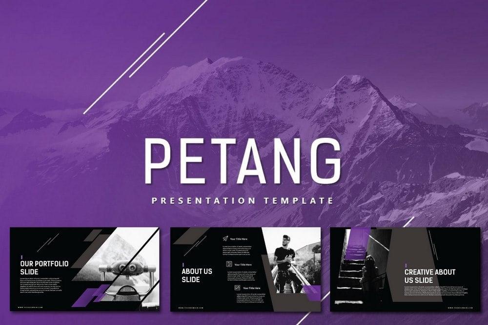 Petang - Free Powerpoint & Keynote Template