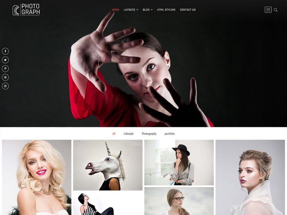 Foto - Tema Fotografi WordPress Gratis