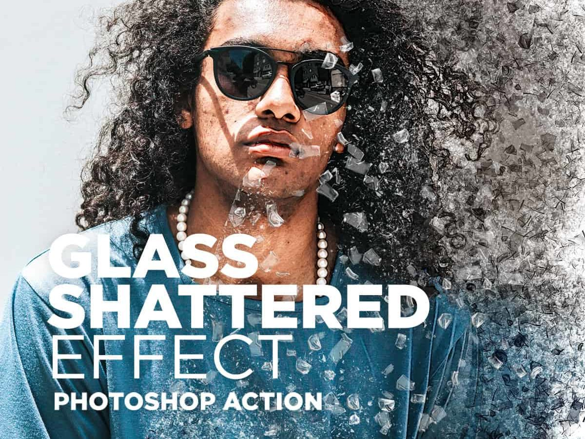 Photoshop Glass Texture Effects