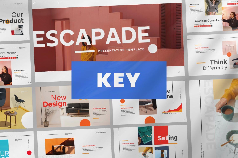 Pitch Deck Design Keynote Template