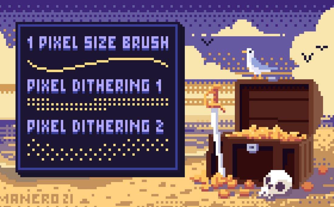 Pixel Art Experience - Free Procreate Pixel Brushes