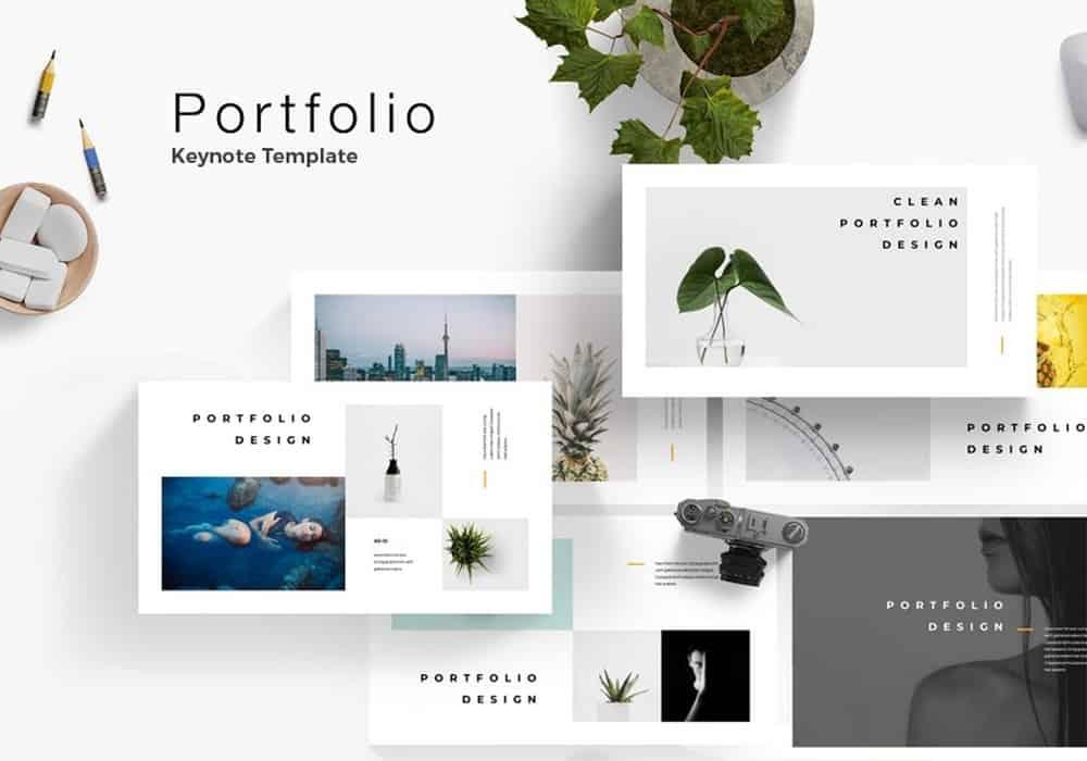 Portfolio - Free Keynote Template