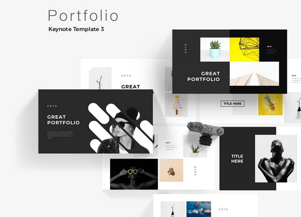 Portfolio - Free Modern Keynote Template