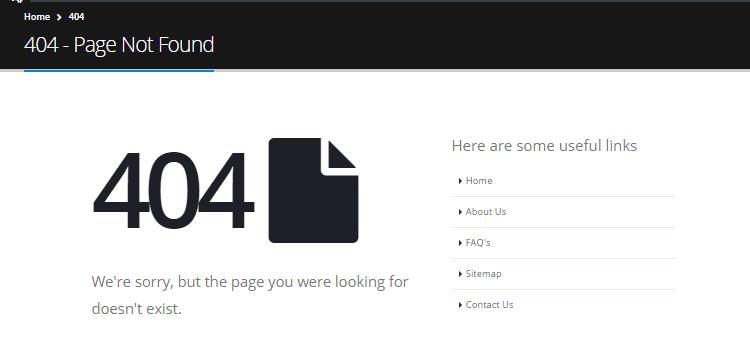 Ulasan Tema Porto WordPress 404