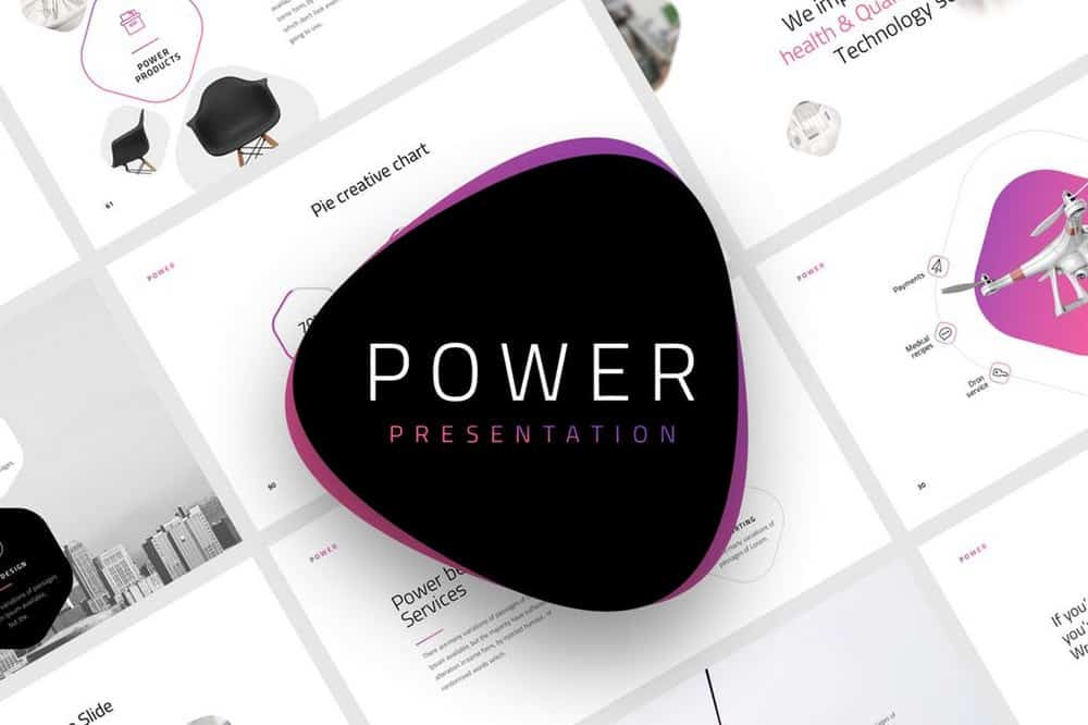 Power - Multipurpose Keynote Template