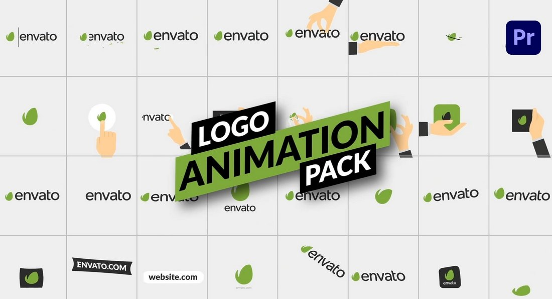 Premiere Pro Logo Animation Template Pack