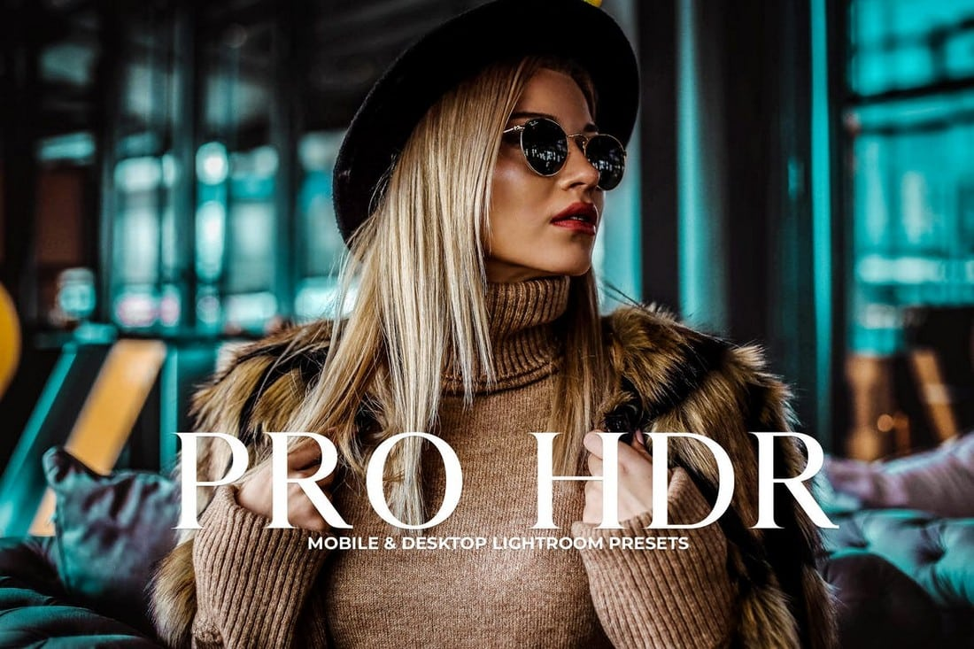 Pro HDR Collection Lightroom Presets
