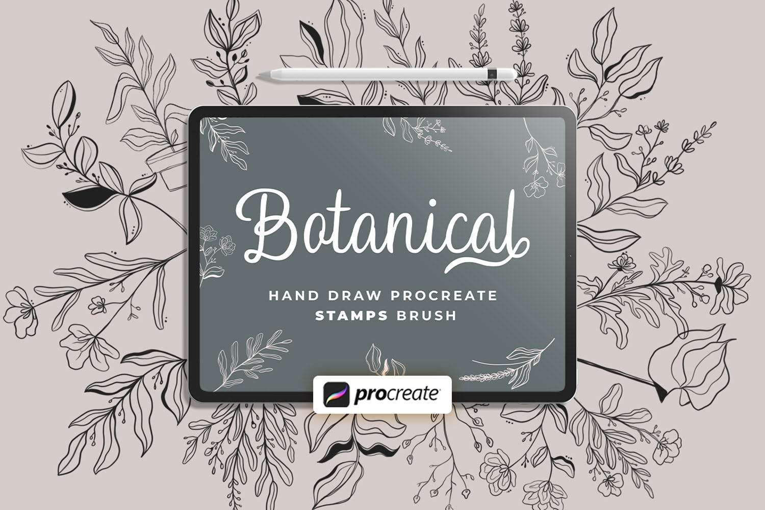 Procreate - Floral Stamps