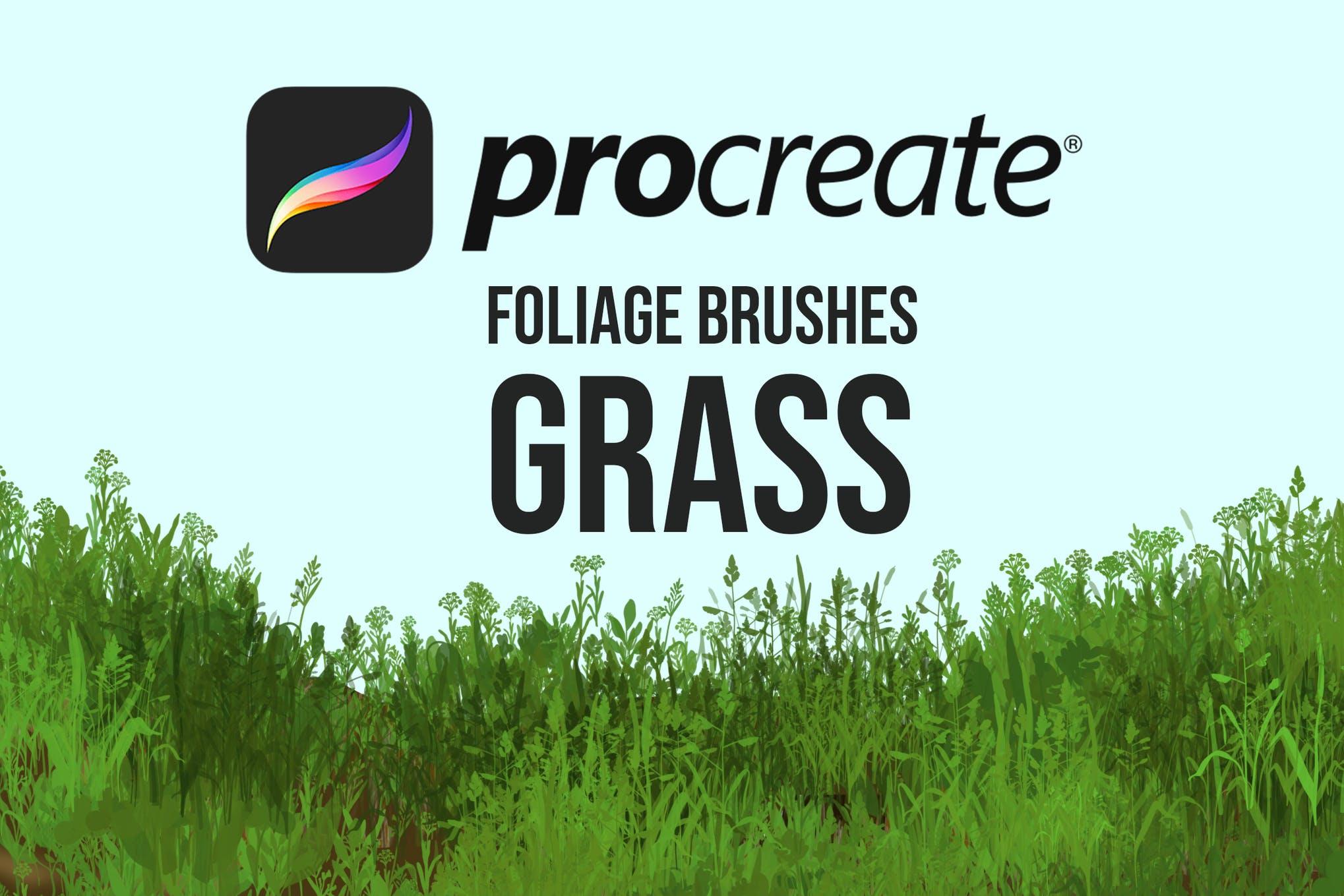Floralies - Procreate flower Brushes