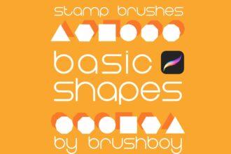 20 Best Procreate Shape Brushes (Free & Pro) 2021