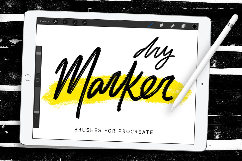 Procreate sketch brush