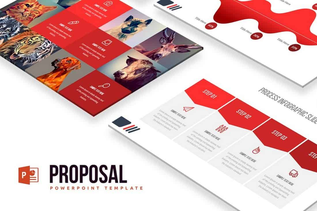 Proposal - Professional Powerpoint Template
