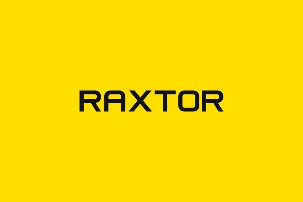 RAXTOR - Display & Logo Font