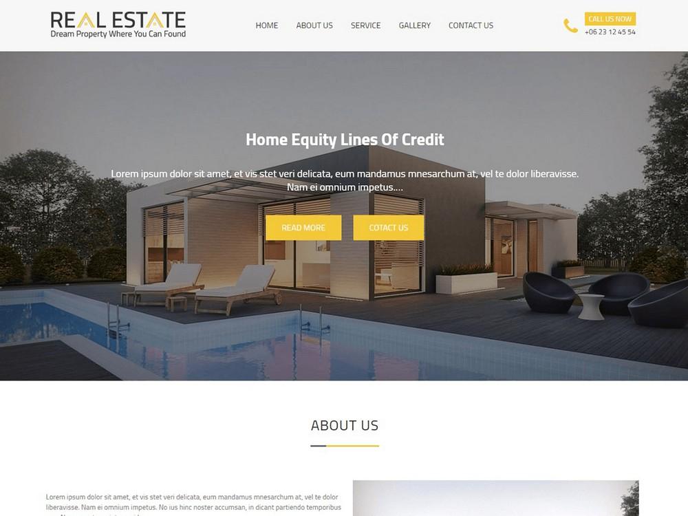 Real Estater - Free WordPress Real Estate Theme