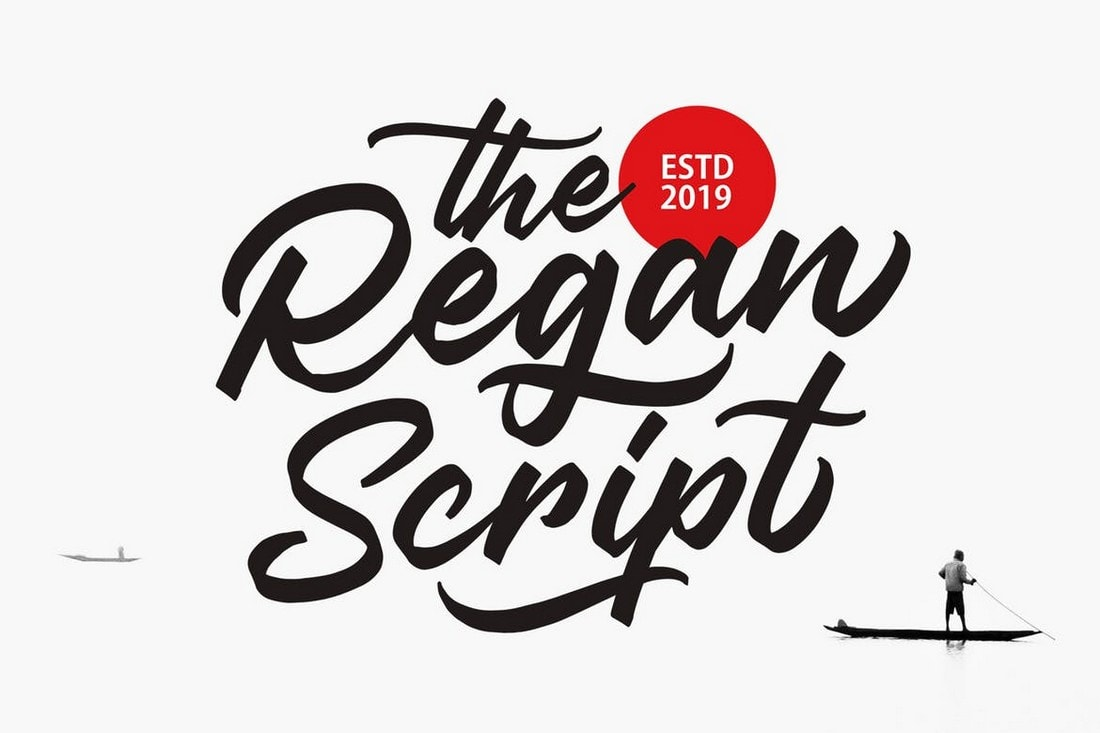 Regan Script - Stylish Flyer Font