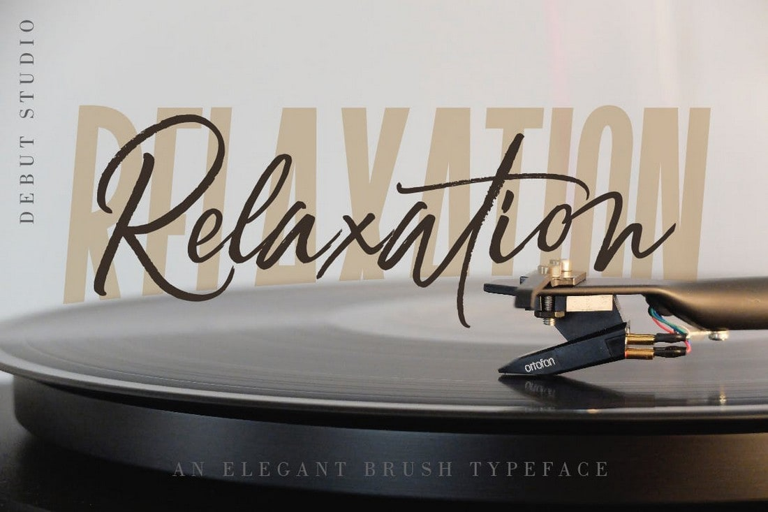 Relaxation - Stylish Handwriting Font
