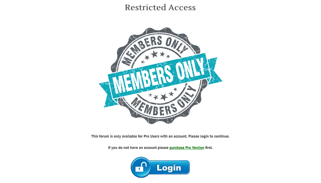 restricted-access-custom-page