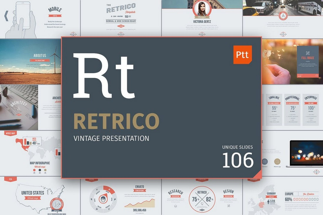 Retrico Vintage Slides