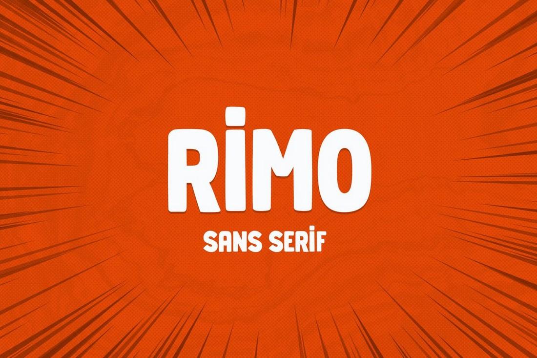 Rimo - Font Kreatif untuk Cricut