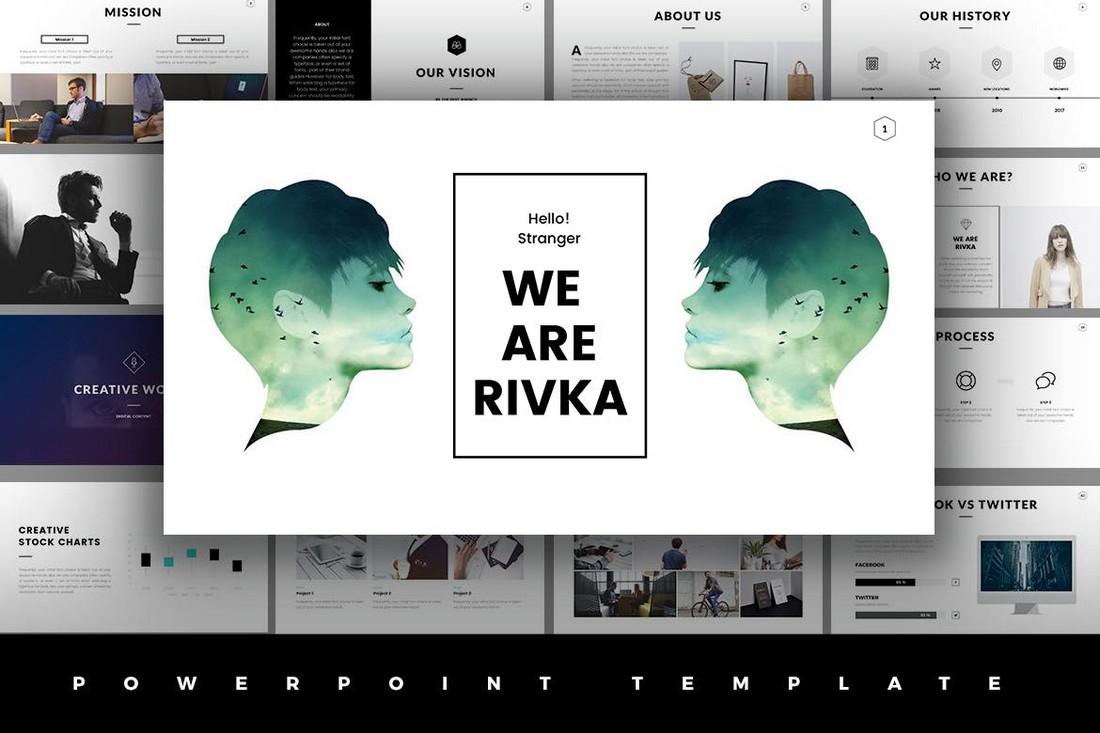 Rivka Minimal PowerPoint Template
