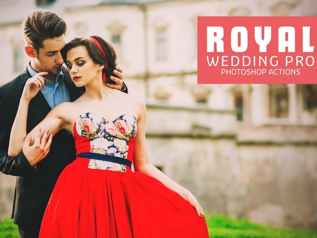 Royal Wedding Pro - Free Photoshop Actions