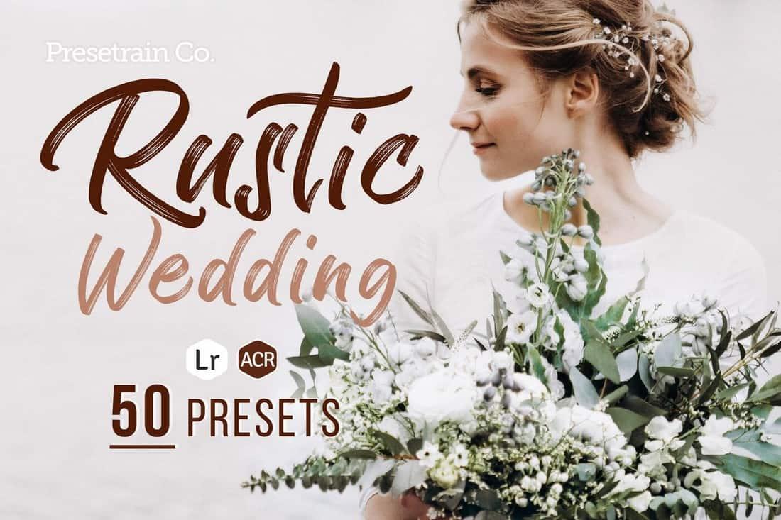 Rustic Wedding - 50 Lightroom Presets