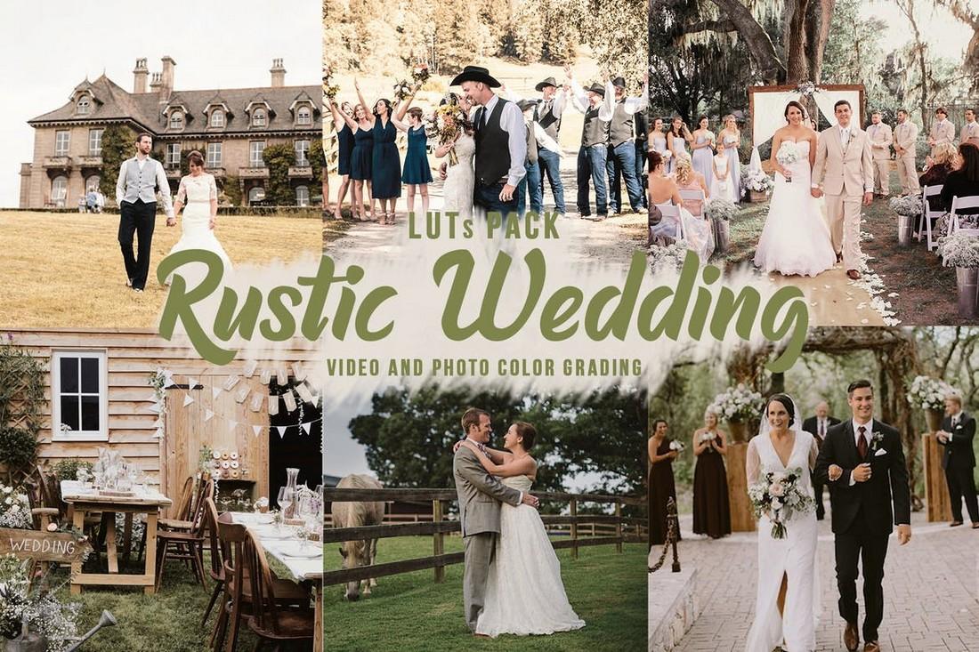 Rustic Wedding LUTs - Filter Grading Warna Video