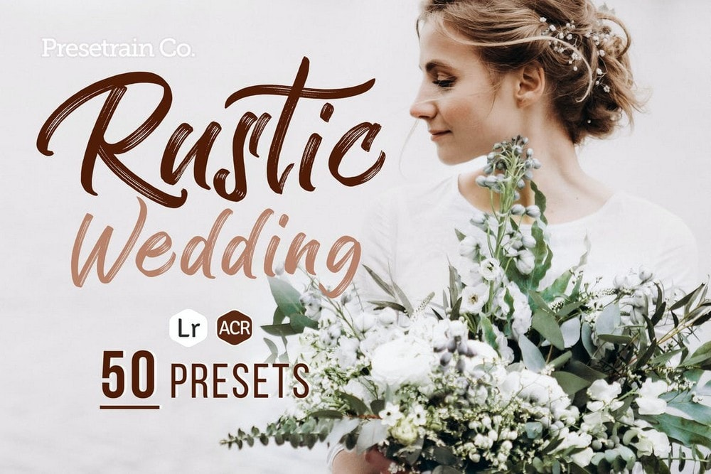 Rustic Wedding Presets for Lightroom